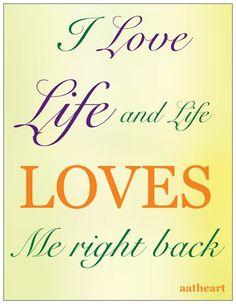 Love me, Love life