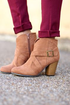 Say It Right Booties-Camel – Sweet N Sassy Us