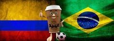 Colombia & Brazil = Fútbol!!! The best Futbol!!!!