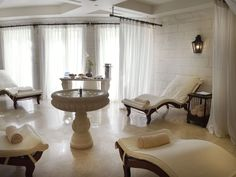 The Relaxation Room at The Spa at Sandy Lane