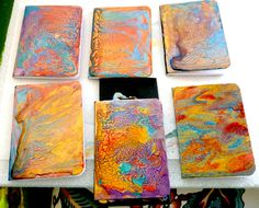 free tutorial on using Pebeo Prisme paints in your mixed media projects