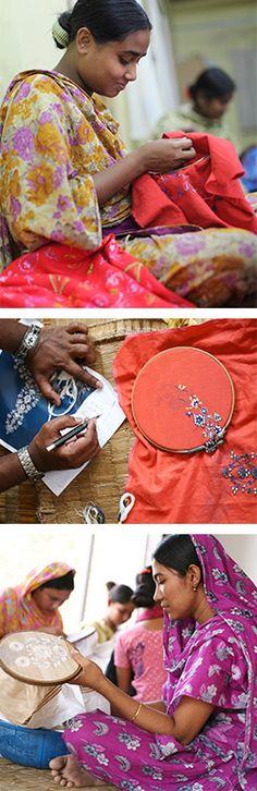 Fashion can create good jobs for artisans in Bangladesh! #fashiontakesaction