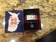 Rustic Cuff of the Month June Red White Blue Silver 2017 NEW COTM