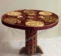 Quilled Mini Table - by: Uma Gupta
