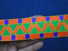 Indian Laces and Trim Sari Border