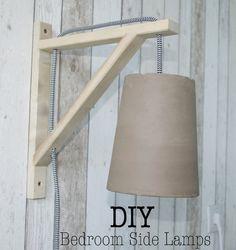 DIY Bedroom Side Lamps (Ikea Hack) (via Bloglovin.com )