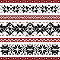 snowflake nordic patterns - Google Search
