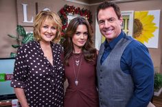 """Actress Torrey DeVitto talks about her starring role in the upcoming Hallmark Channel original movie """"Best Christmas Party Ever""""; actor Adam Kaufman (""""State of Affairs"""") shares behind-the-scenes stories from the set of his show; a DIY holiday centerpiece; chef Nyesha Arrington (""""Top Chef Duels""""); puppy potty training help."""