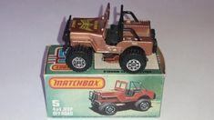 Matchbox Jeep 4x4 Golden Eagle