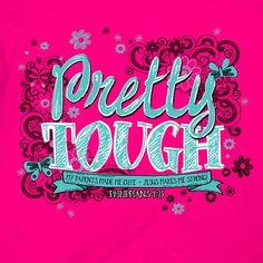 Pretty Tough Kids T-Shirt-Christian T-Shirts-Kerusso-SonGear