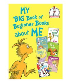 Look at this #zulilyfind! My Big Book of Beginner Books about Me Hardcover by Dr. Seuss #zulilyfinds
