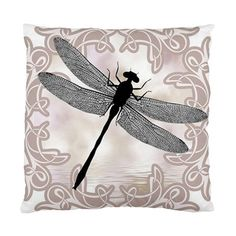 DRAGONFLY ART PHOTO SCATTER CUSHION CASE/COVER~BED LOUNGE Home DECORATIVE GIFT   eBay