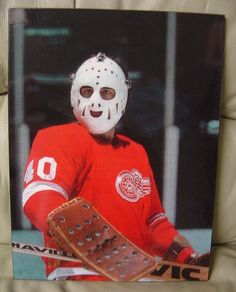 Rogie Vachon | Detroit Red Wings | NHL | Hockey