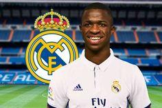 Oficial: brasileño Vinicius Junior firmó con el Real Madrid #Deportes #Fútbol