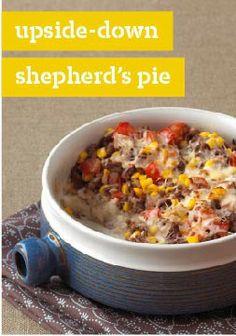 Upside-Down Shepherd's Pie