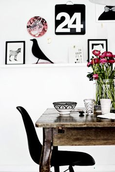 Black and White Inspiration from Forever Love