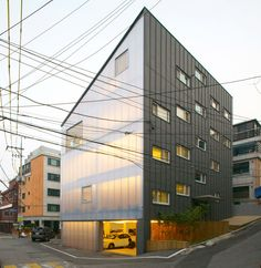 translucent polycarbonate facade. wise architecture: y-house