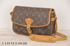 Louis Vuitton Monogram Sologne Shoulder Bag M42250