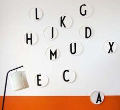 The Minimalist Store x Design Letters / Porcelain plates