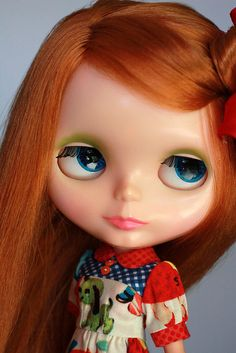 1970's Blythe Kenner red hair