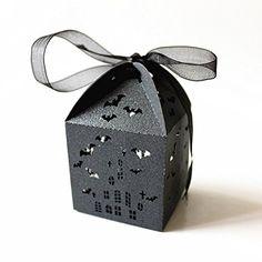 ROSENICE Wedding Favor Boxes Bat Hollowed Design Candy Pa…