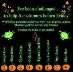 which pumpkin are you? www.blairvictoria.itworks.com or text 317-213-1144