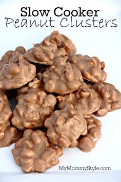 Slow Cooker Peanut Clusters