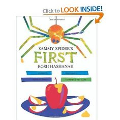 """Read """"Sammy Spider's First Rosh Hashanah"""" by Sylvia A. Rouss available from Rakuten Kobo. Sammy Spider wants to taste the golden honey the Shapiros set out for a sweet New Year. Mom tells him to stick to spinni. Simchat Torah, High Holidays, Bat Mitzvah Gifts, Yom Kippur, Gift Finder, Rosh Hashanah, Library Books, Library Ideas, Childrens Books"""