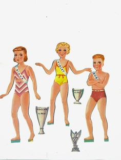 Beauty Contest and floats 1941 Lowes #1026 cut set - Bobe Green - Álbumes web de Picasa