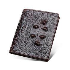 904de5afa92 Mens Leather Purse Crocodile pattern Wallets Credit Card Holder money clip   fashion  clothing