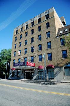 Ramada Plaza Ojibway Hotel Is Located In Beautiful Downtown Sault Ste Marie Mi