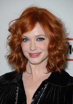 One of the hottest ladies on TV in my opinion - LOVE Mad Men! Christina Hendricks Hair