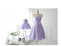 Purple fairy dress--Mother daughter matching