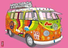 VW_T1_Hippiebus