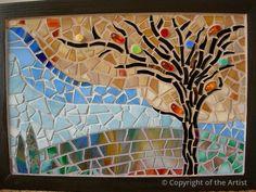 Changing Seasons by Cristina Ciloci  ~  Maplestone Gallery  ~  Contemporary Mosaic Art
