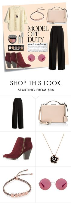 """""""Spring Feel"""" by nabilahnabill on Polyvore featuring Post-It, RED Valentino, Mark Cross, Charlotte Russe, Monica Vinader, Ray-Ban and Bobbi Brown Cosmetics"""
