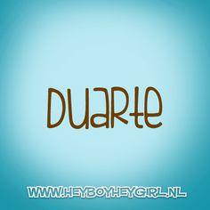 Duarte (Voor meer inspiratie, en unieke geboortekaartjes kijk op www.heyboyheygirl.nl)