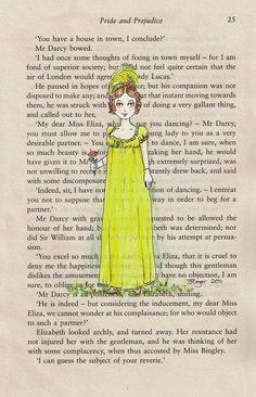 Pride and Prejudice Print - Jane Austen