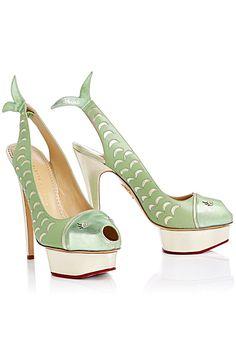 Charlotte Olympia - Shoes - 2014 Spring-Summer - Ho la la quelle merveille - Je n'oserais même pas les porter !!!