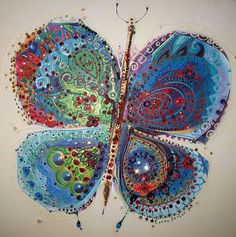 Colorful art by Canan Berber by Turkish Painter Coloring Book Art, Turkish Art, Abstract Drawings, Naive Art, Butterfly Art, Mixed Media Canvas, Illustrations, Fabric Painting, Fabric Art