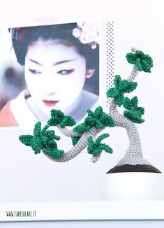Come fare un amigurumi bonsai a crochet, trovi lo schema gratis e le spiegazioni passo passo.