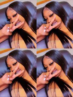 Baddie Hairstyles, Black Girls Hairstyles, Cute Hairstyles, Braided Hairstyles, Pretty Black Girls, Beautiful Black Girl, Pretty Woman, Brown Skin Girls, Light Skin Girls