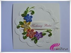 Quilling Hobby: Dzień Babci