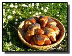 Máslové makovky Pretzel Bites, Muffin, Bread, Baking, Buns, Breakfast, Food, Meal, Patisserie