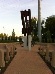 The 911 memorial in Beavercreek, Ohio.