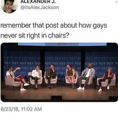 Lol there are actually gay tho that's why it's funny Lgbt Memes, Funny Memes, Lgbt Quotes, Fangirl, Lgbt Love, Bubbline, Lgbt Community, Tumblr Funny, I Laughed