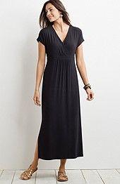 J. Jill Empire-waist maxi dress WANT
