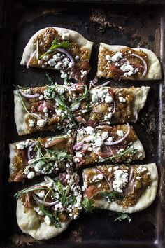 Peach Chutney Pizza with Prosciutto and Goat Cheese | Food Styling and ...