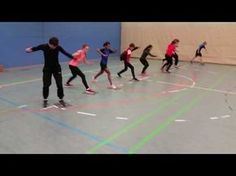 Lauf-ABC und Koordinationstraining mit Matten - YouTube