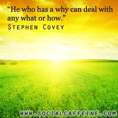 Buzzworthy Quote of the Day: Stephen Covey @SBHSBH